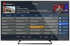 TV showing guide