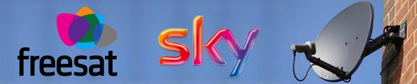 Satellite Dish, Sky, Freesat